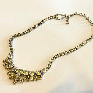 Eisenberg Ice Vintage Rhinestone Necklace
